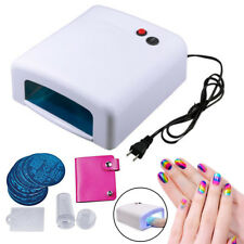 36W UV Lamp Gel Polish Curing Nail Art Dryer Manicure / Nail Art Image Stamp US
