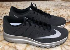 NIKE AIR MAX 2016 Flash Premium 360 Black Running Training Shoes NEW Mens Sz 12