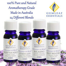 Essential Oil Blends - Gumleaf Essentials - 100% pure - 24 different oil blends