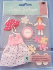 BABY GIRL TODDLER  DRESSES EMBELLISHMENTS  JOLEE'S MISS ELIZABETH HANDMADE- NEW