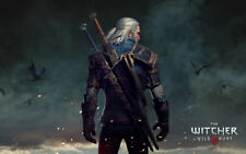 Unframed Witcher Modern Canvas Printed Game Poster The Witcher Home decor Painti