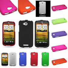 For HTC One VX Case - Slim Fit Matte Rubberized Snap-On Hard Phone Cover