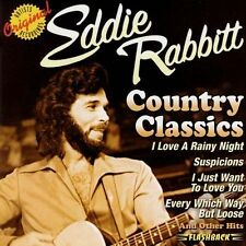 FREE US SHIP. on ANY 3+ CDs! NEW CD Eddie Rabbitt: Country Classics