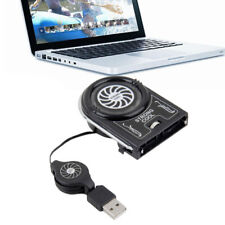 Mini USB Cooler Air Vacuum Extracting Cooling Fan Pad For Notebook Laptop  TH