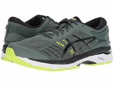 ASICS GEL KAYANO 24 DARK FOREST BLACK YELLOW MENS RUNNING SHOES **FREE POST AUST