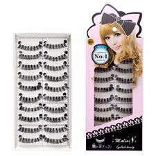 10Pairs/set False Eyelashes Natural Long Eye Lashes Women Thick Black Makeup New