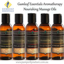 Gumleaf Essentials Aromatherapy Massage Oils 125ml - 5 Scents to choose from