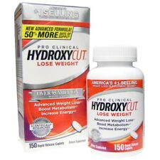 Hydroxycut Pro Clinical Super Weight Loss Fat Burn Supplement 72/150 Caps