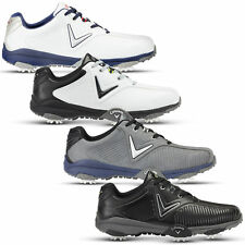 Callaway Golf Mens 2018 Chev Mulligan Opti-Vent Leather Breathable Golf Shoes