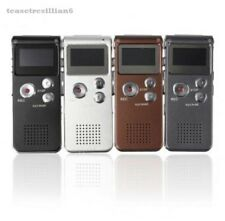 8gb Digital Audio Voice Recorder Mp3 Player Steel Rechargeable 650hr  420mah