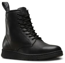 *NEW Dr.MARTENS MENS NEWTON 8-EYE BOOT LEATHER OAK BROWN BOOTS