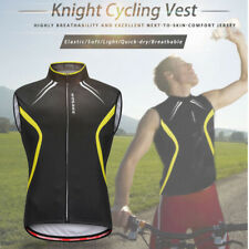 Mens Sleeveless Cycling Vest Breathable Quick Dry Bike Wear Sports Jersey Gilet