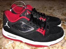 NIKE Air Jordan Flight 23 RST Black Red White Low Basketball Shoes NEW Mens Sz 8