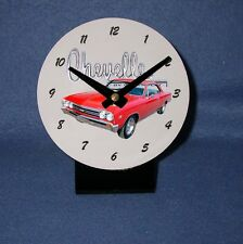 NEW 1967 Chevy Chevelle Desk Clock! (Many colors available)