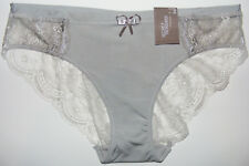 Bikini Panty Soft Microfiber Rear Lace Detail No Panty Lines Secret Treasures