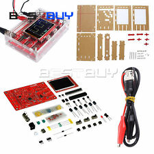 "DSO138 2.4"" TFT Digital Oscilloscope Acrylic Case DIY Kit ModuleATF"