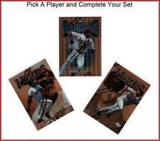 1997 Finest Baseball Singles Pick A Player and Complete Your Set