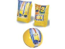 Despicable Me Minions Inflatables Arm Bands Beach Ball Swimming Safety Holiday
