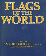 Flags of the World by Barraclough, E.M.C. Hardback Book The Cheap Fast Free Post