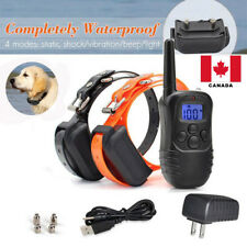 Waterproof Rechargeable Remote LCD Electric Dog Training Shock Collar Canada NEW