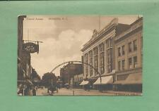 DUNKIRK, NY Vintage 1911 Postcard--CENTRAL AVENUE, Nice View!