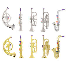 Kids Educational Trumpet Saxophone French Horn Musical Instrument Toy for Baby