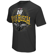 Kyle Busch #18 Nascar T-Shirt Adult Size Large New w/Tag