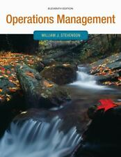 Operations Management by William J. Stevenson (2011, Hardcover)