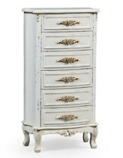 Fabulous Brand New French Chic Painted Tallboy chest of 6 drawers rrp £495