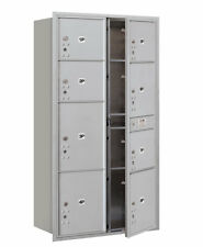 Salsbury Industries Recessed USPS Aluminum 9 Unit 4C Horizontal Parcel Locker