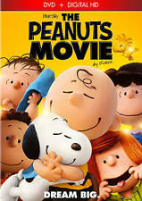 The Peanuts Movie (DVD, 2016, Includes Digital Copy) New