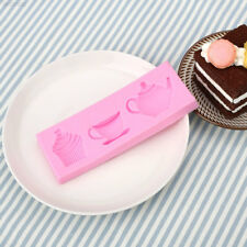 Afternoon Tea Silicone Cake Cookies Bread Baking Kitchenware Mould Tool 8EAF