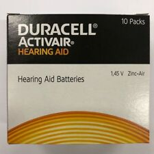New Fresh Lot 4 to 300 Duracell Activair Hearing Aid Batteries Size 13 Exp 2022