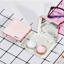 Portable Mini Travel Contact Lens Case Box Container Holder Eye Care Storage Set