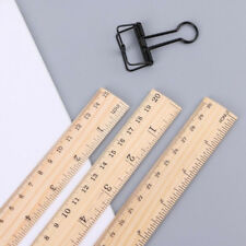 15/20/30cm Wood Ruler Student Wooden School Stationery Measuring Office Gift