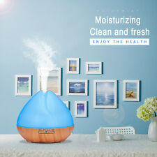 400ml 7LED Colors Light Ultrasonic Air Humidifier Aroma Essential Oil Diffuser Z