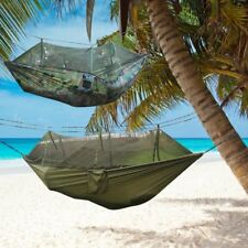 Jungle Hammock Mosquito Net Camping Travel Parachute Hanging Bed Tent WD