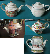 SADLER COLLECTION OF TEA POTS  - ROMANCE- ROSE GARDEN - COAL HOUSE - PICK ONE