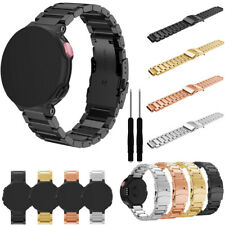 Metal Stainless Steel Watch Band Strap For Garmin Forerunner 220 230 235 630 735