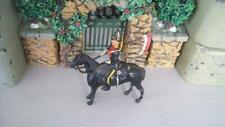 (1) W BRITAINS SET 24****MOUNTED TROOPER OF THE 9TH QUEEN'S ROYAL LANCERS  ****