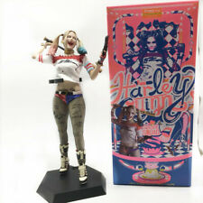 DC Crazy Toys Suicide Squad Harley Quinn 1/6TH Figure Real Clothes PVC Statue