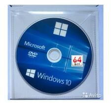 MICROSOFT WINDOWS 10 Pro PROFESSIONAL 64 & 32 bit FULL DVD WITH LICENSE KEY 1909