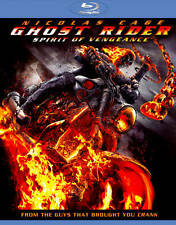 Ghost Rider: Spirit of Vengeance (Blu-ray Disc, 2012) Great Condition Fast Ship