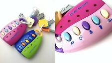 Musical Car Key Baby Toy Smart Remote Car Voices Pretend Play Education Toy Kids