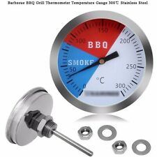 """2"""" Temperature Gauge Thermometer for Barbecue BBQ Grill Smoker Temperature Tool"""