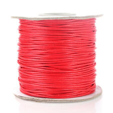 100 Yards WAXED Cotton Cord Bundle 1mm Jewelry Making Bracelet Necklace String