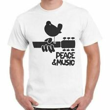 NEW WOODSTOCK MUSIC FESTIVAL PEACE 1969 RETRO T SHIRT 41 USA SIZE