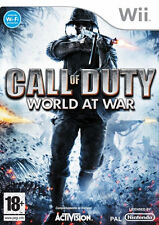 NINTENDO WII CALL OF DUTY WORLD AT WAR GAME