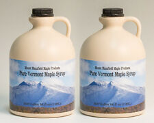 4 Gallons Pure Vermont Maple Syrup(ships as 8 half gal)