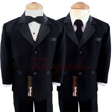 Gino Giovanni Boy Black Usher Tuxedo Size Baby to Teens